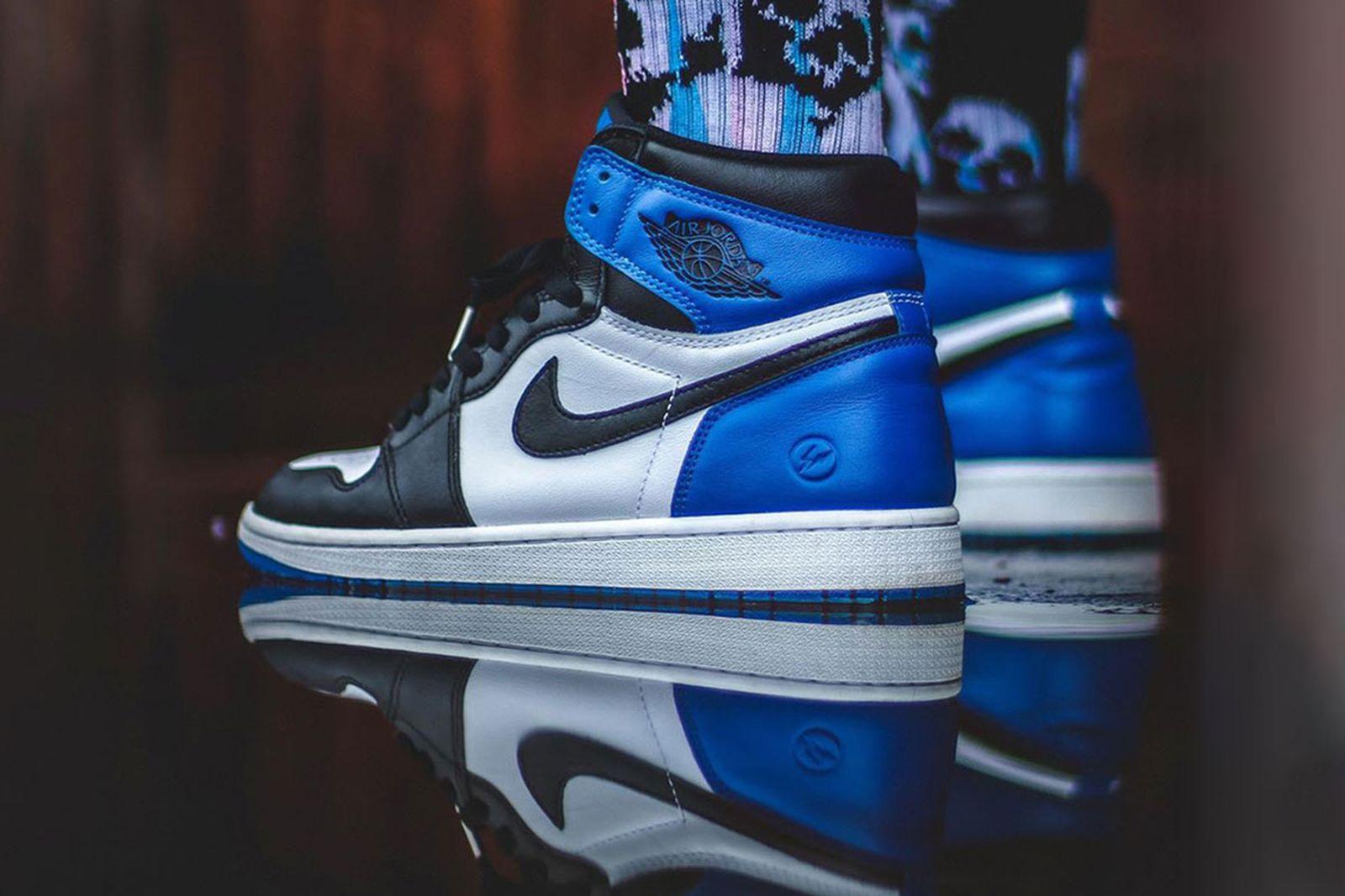 "fragment air jordan 1 retro best instagram sneakers Fear of God x Nike Air Raid ""Light Bone Fragment x Nike Air Jordan 1 Retro High OG MMW x Nike Removable Vibram Outsole"