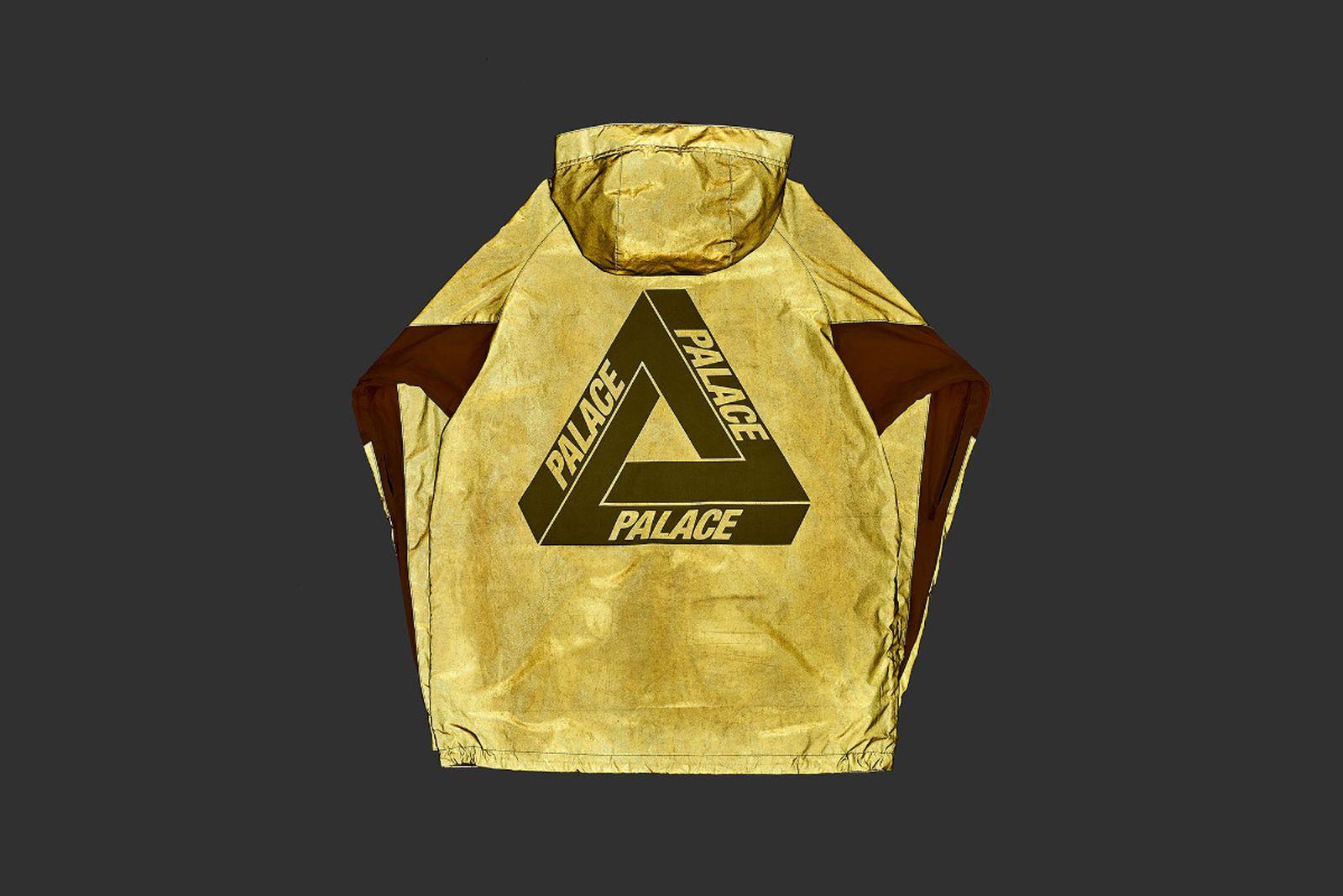 Palace 2019 Autumn Jacket Deflector yellow reflective back fw19