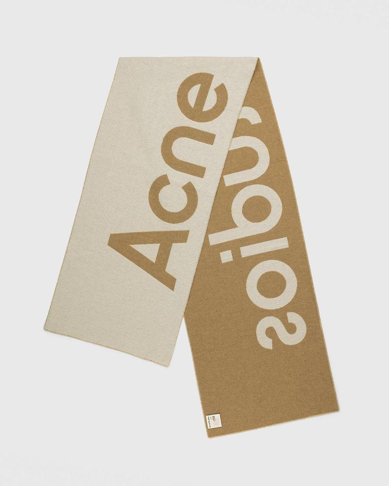 Acne Studios – Toronto Logo Scarf Brown