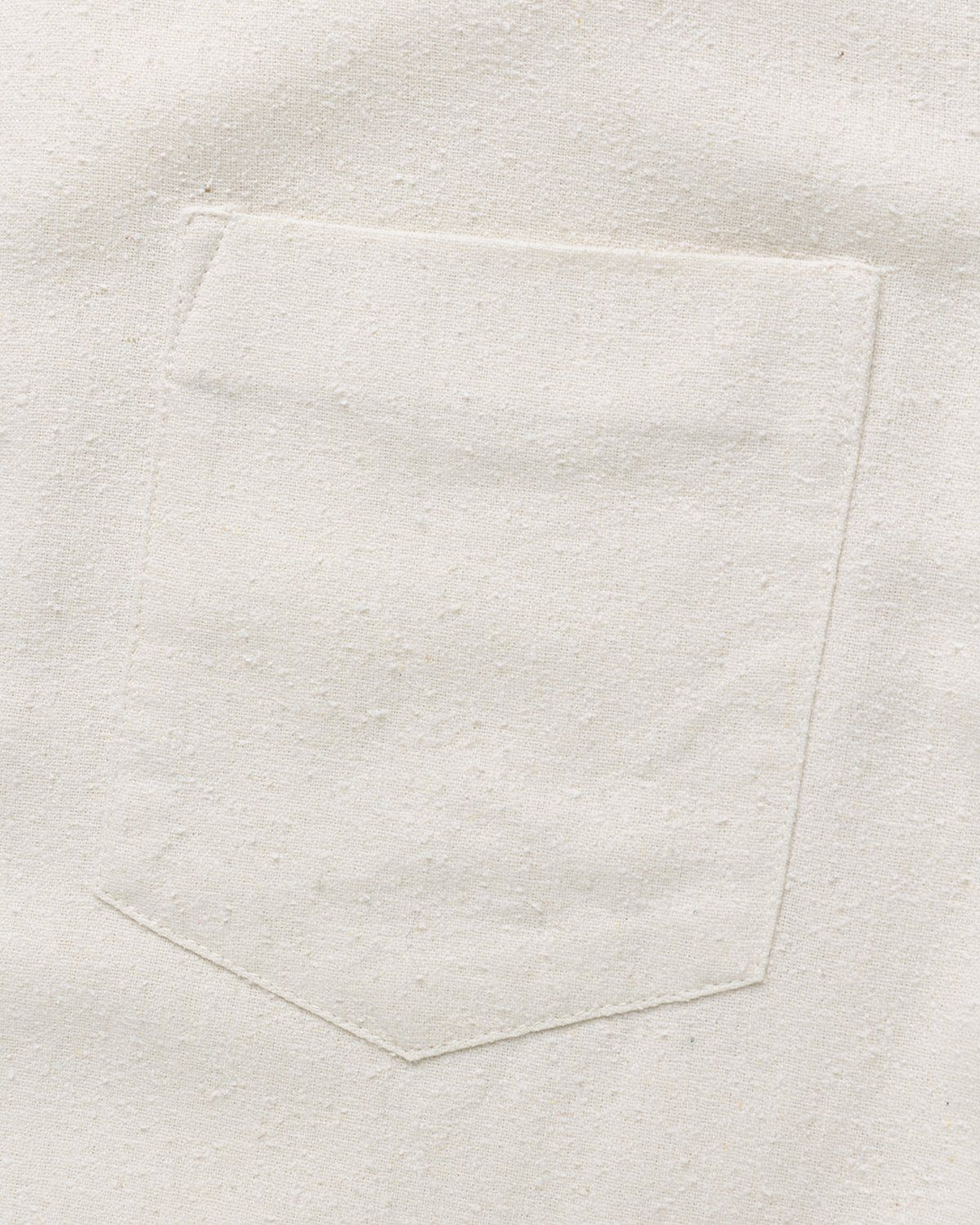 Our Legacy – Classic Shirt White Silk - Image 4