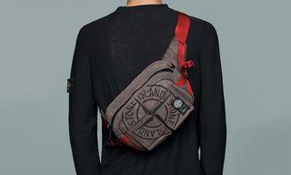Stone Island & PORTER Drop New Garment Dyed Bags