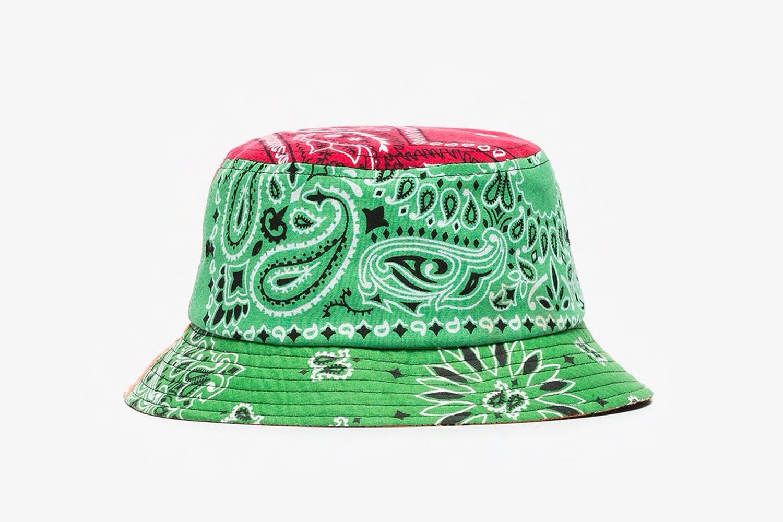 Bandanna Print Bucket Hat