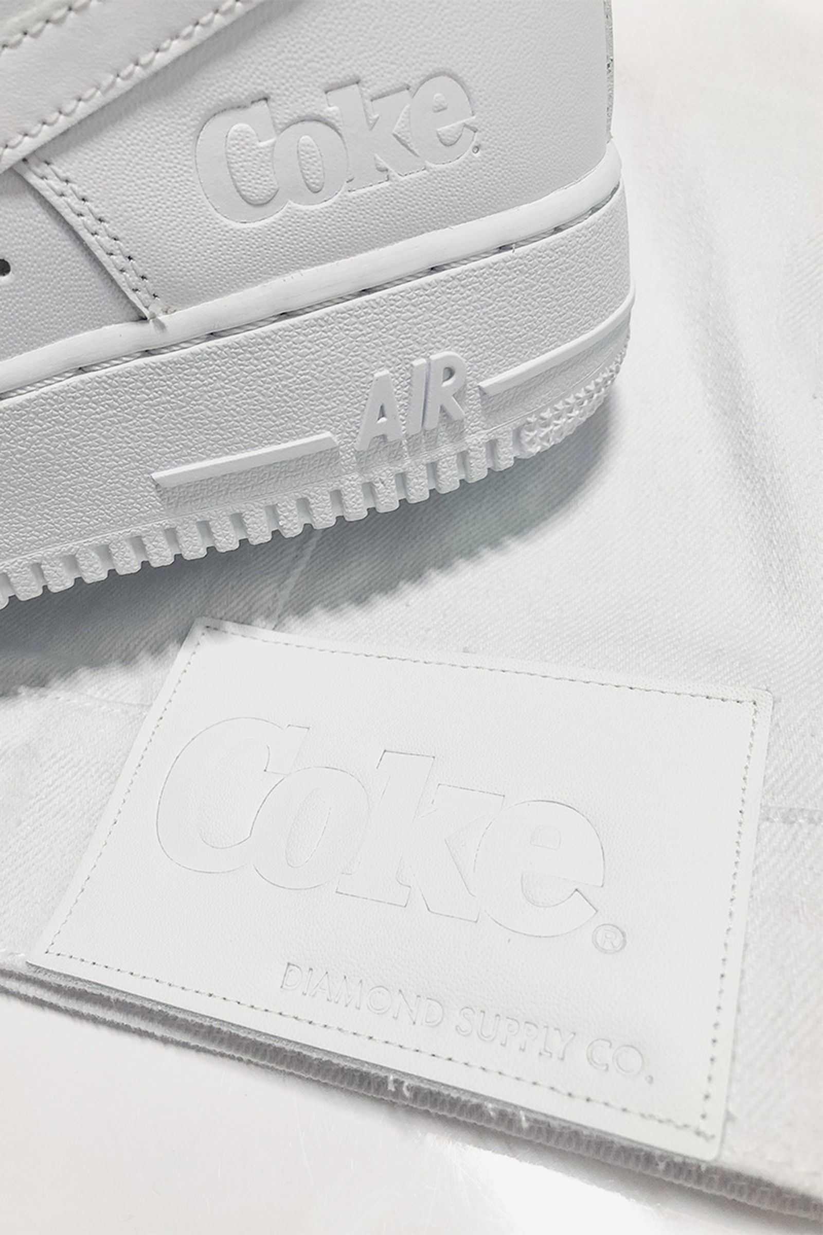diamond supply co coca cola collection Nike air force 1
