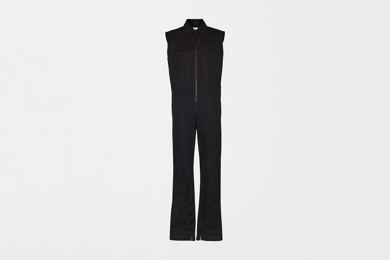 Jumpsuit in Crisp Cotton