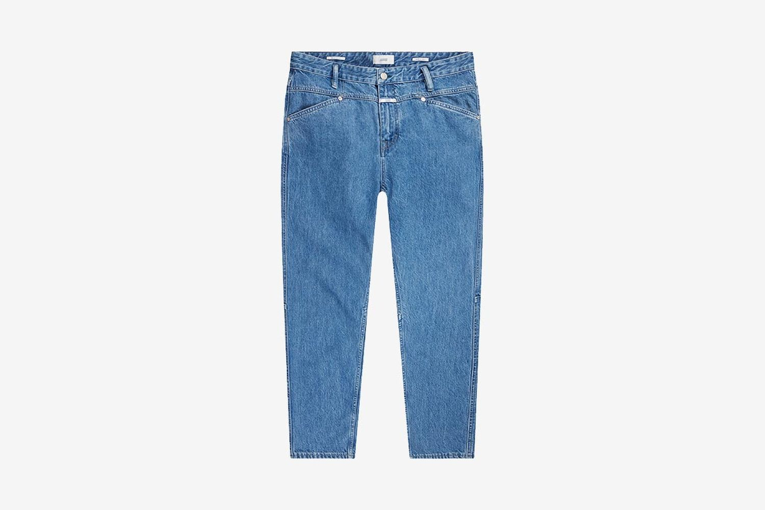 X-Lent Tapered Jeans Mid Blue