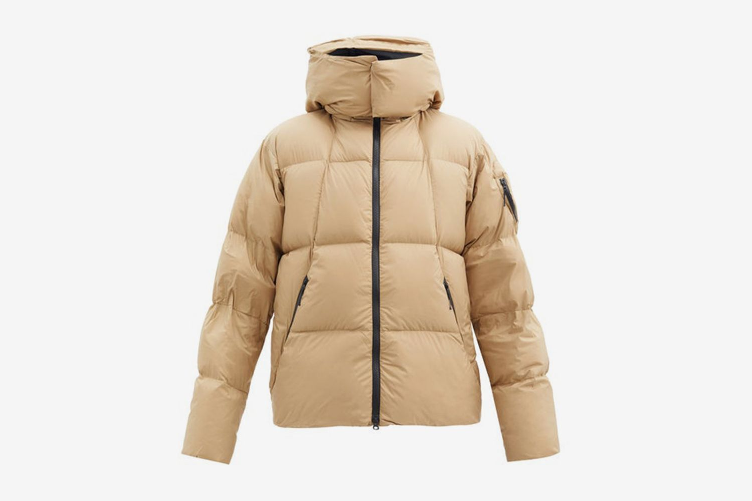 Spur Hooded Puffer Jacket