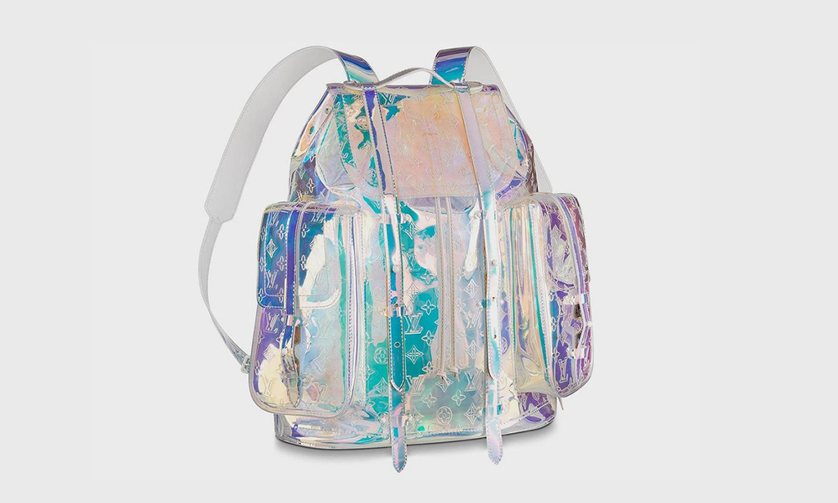 Your Chance to Bag Virgil Abloh's Prism Louis Vuitton Backpack at a Fraction of the Cost
