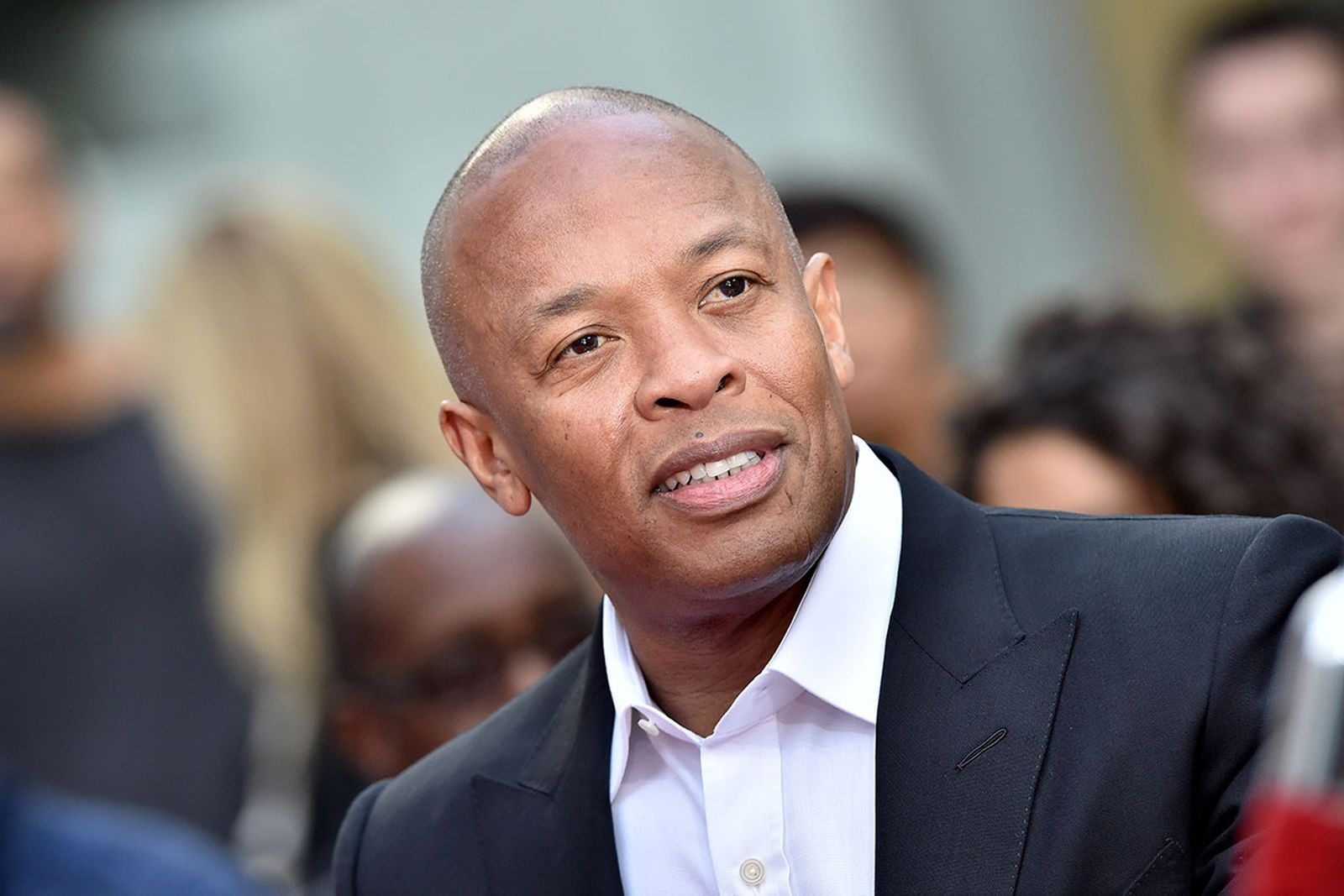 Dr. Dre attends the Hand and Footprint Ceremony honoring Quincy Jones