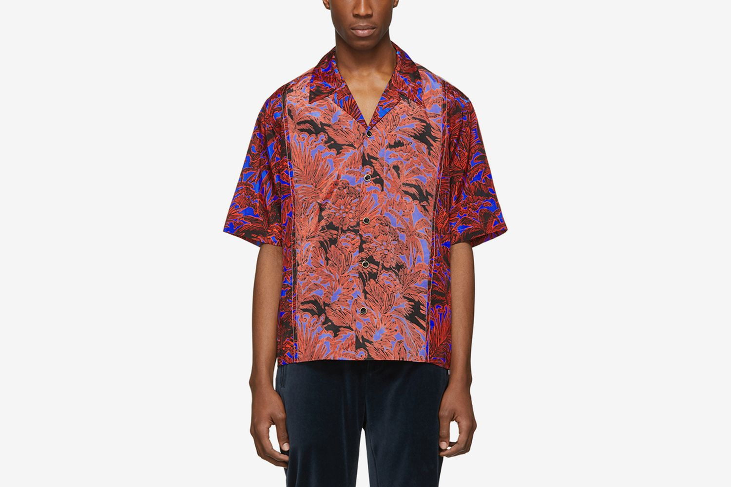 Palm Tree Floral Souvenir Shirt