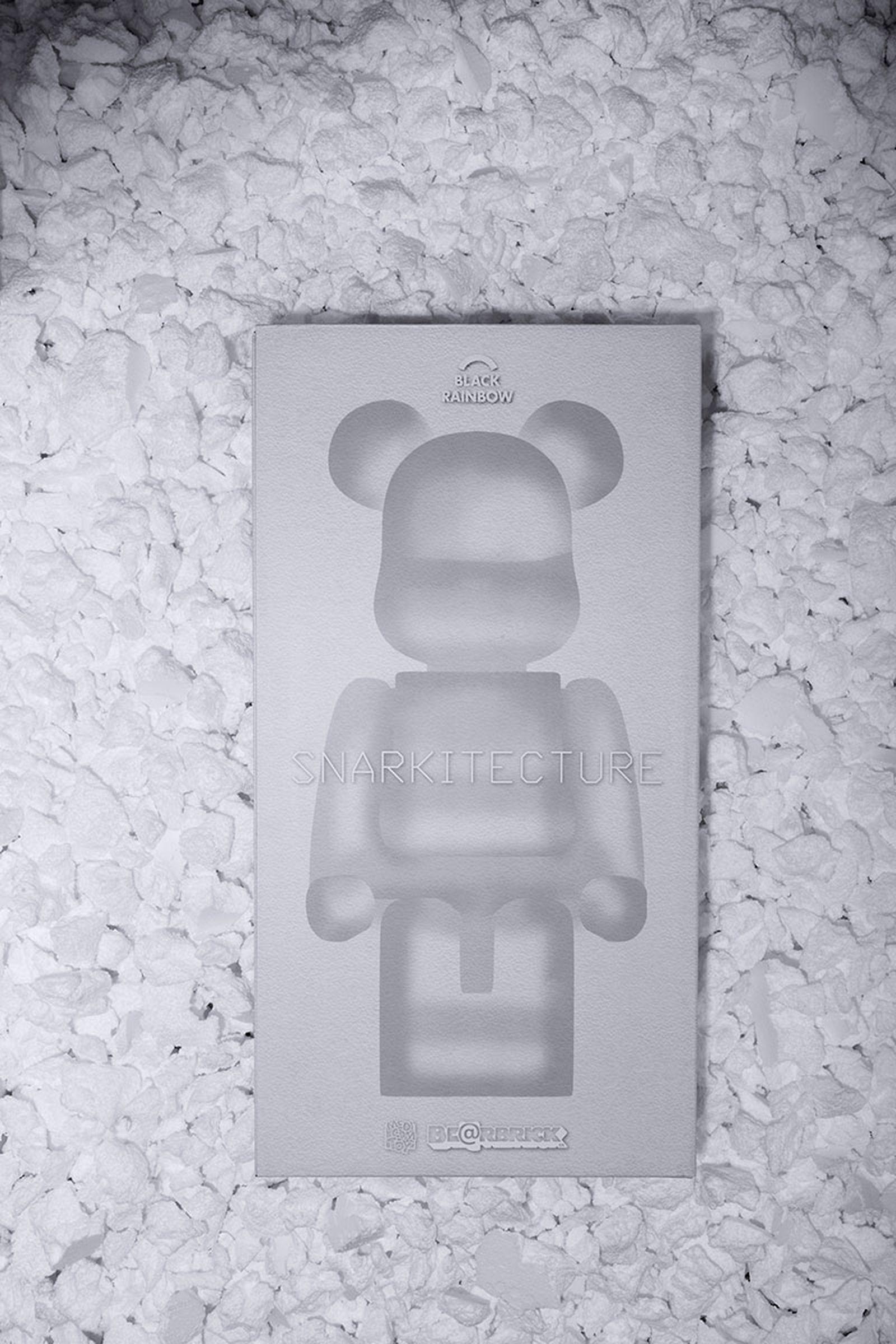 bearbrick snarkitecture blackrainbow 1000% bearbricks medicom toy