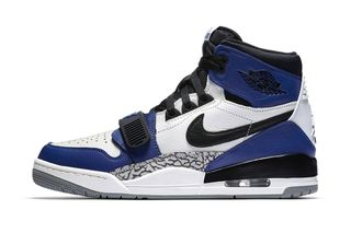 "huge selection of 0e5cc 0d9f8 The Don C x Jordan Legacy 312 ""Storm Blue"" is Dropping Next Week"
