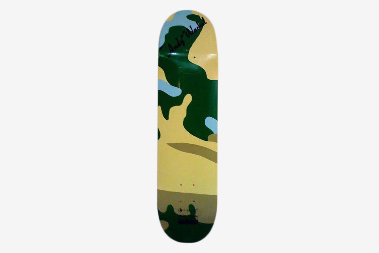 Camouflage Skate Decks (Set of 5) , 2007