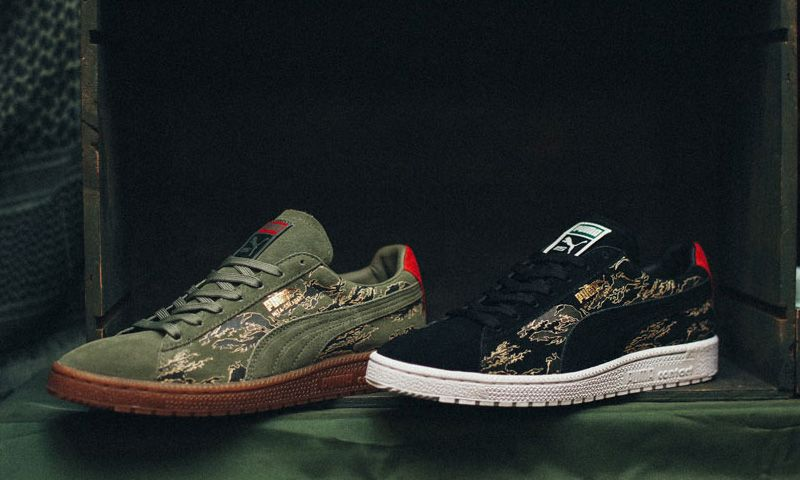 reputable site 016fb f4afd PUMA Clyde x SBTG x mita sneakers Three-Way Collab ...