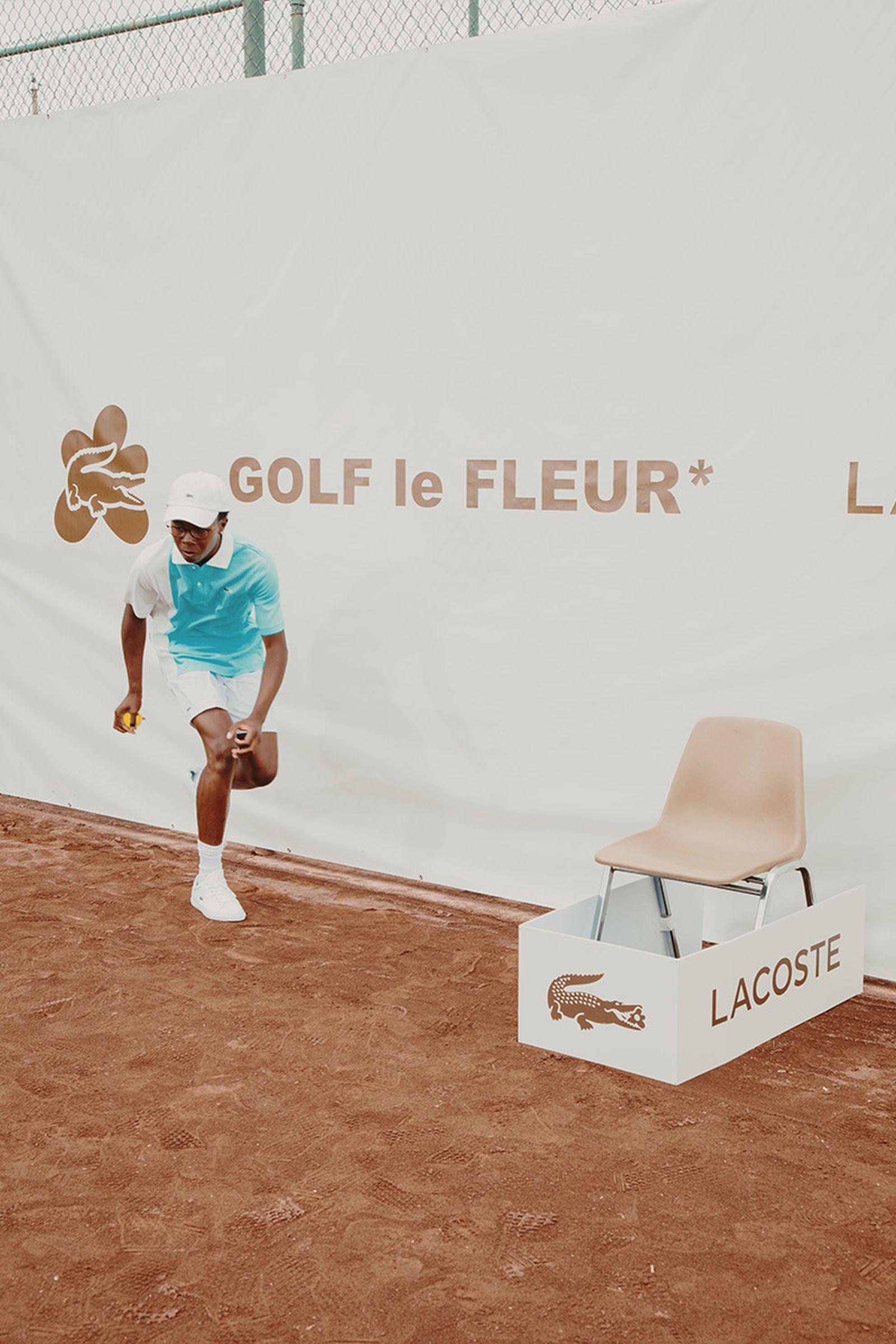 tyler the creator golf wang lacoste collection Golf Le FLEUR*