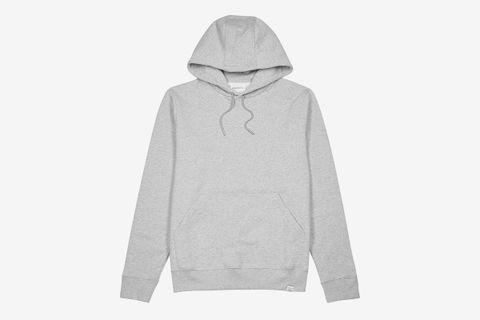 Vagn Hooded Cotton Sweatshirt