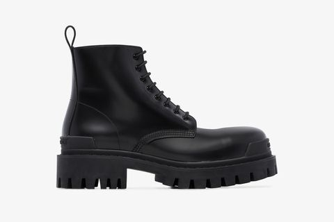 Strike Leather Boots