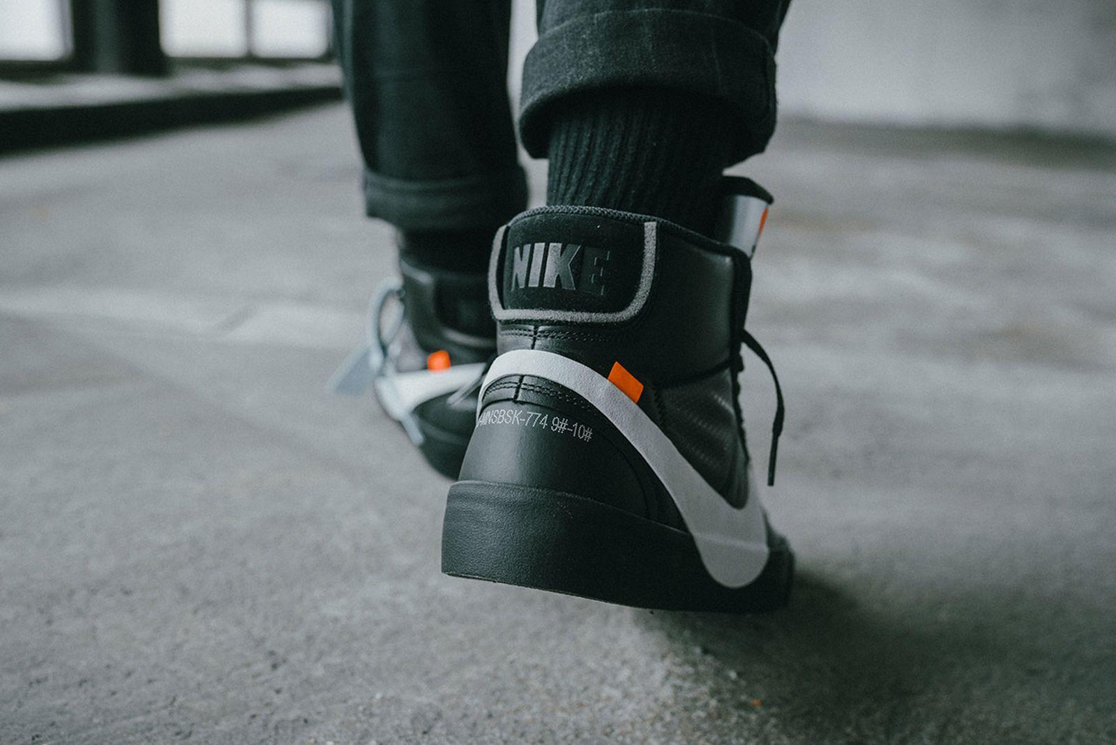 off white nike blazer mid 2018 release price OFF-WHITE c/o Virgil Abloh OFF–WHITE x Nike