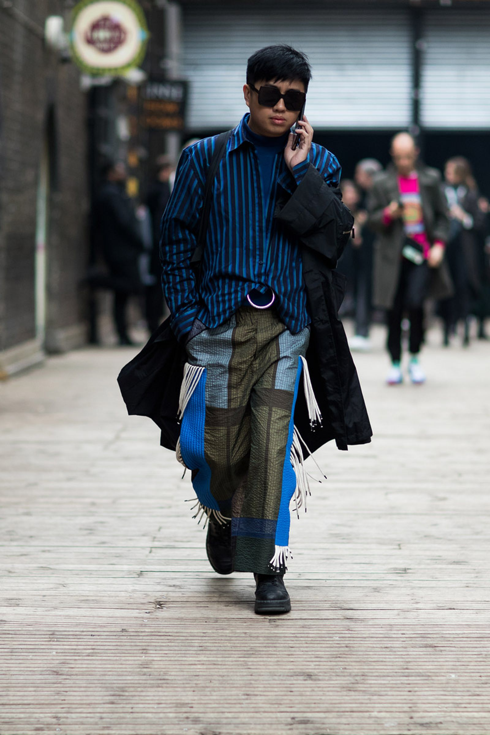 MFW19 London StreetStyle EvaAlDesnudo 04 Martine Rose a cold wall calvin klein 205w39nyc