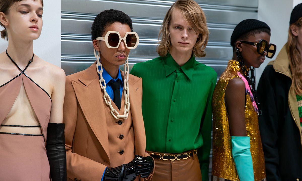 Αποτέλεσμα εικόνας για Gucci SS20 runway sunglasses