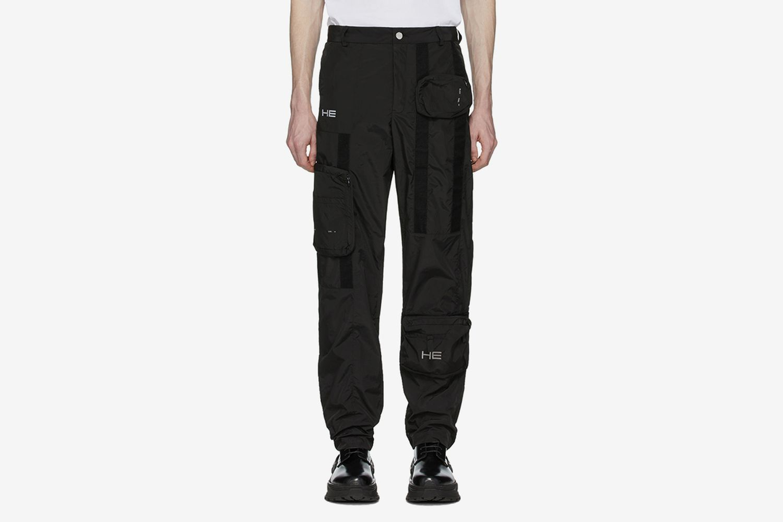 Taffeta Cargo Pants