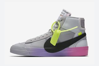 "more photos ae6f3 9f0ac OFF-WHITE x Nike Blazer Mid ""Queen"" Official Release Informa"