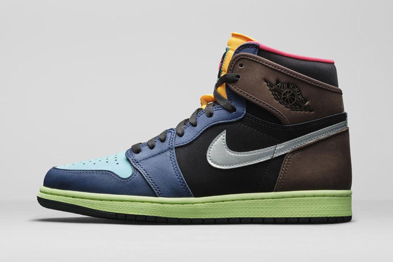 Jordan Brand Fall 2020 sneaker lineup air jordan 1 brown blue green