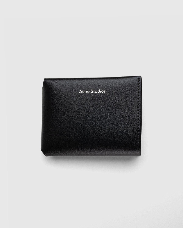 Acne Studios – Trifold Wallet Black - Image 1