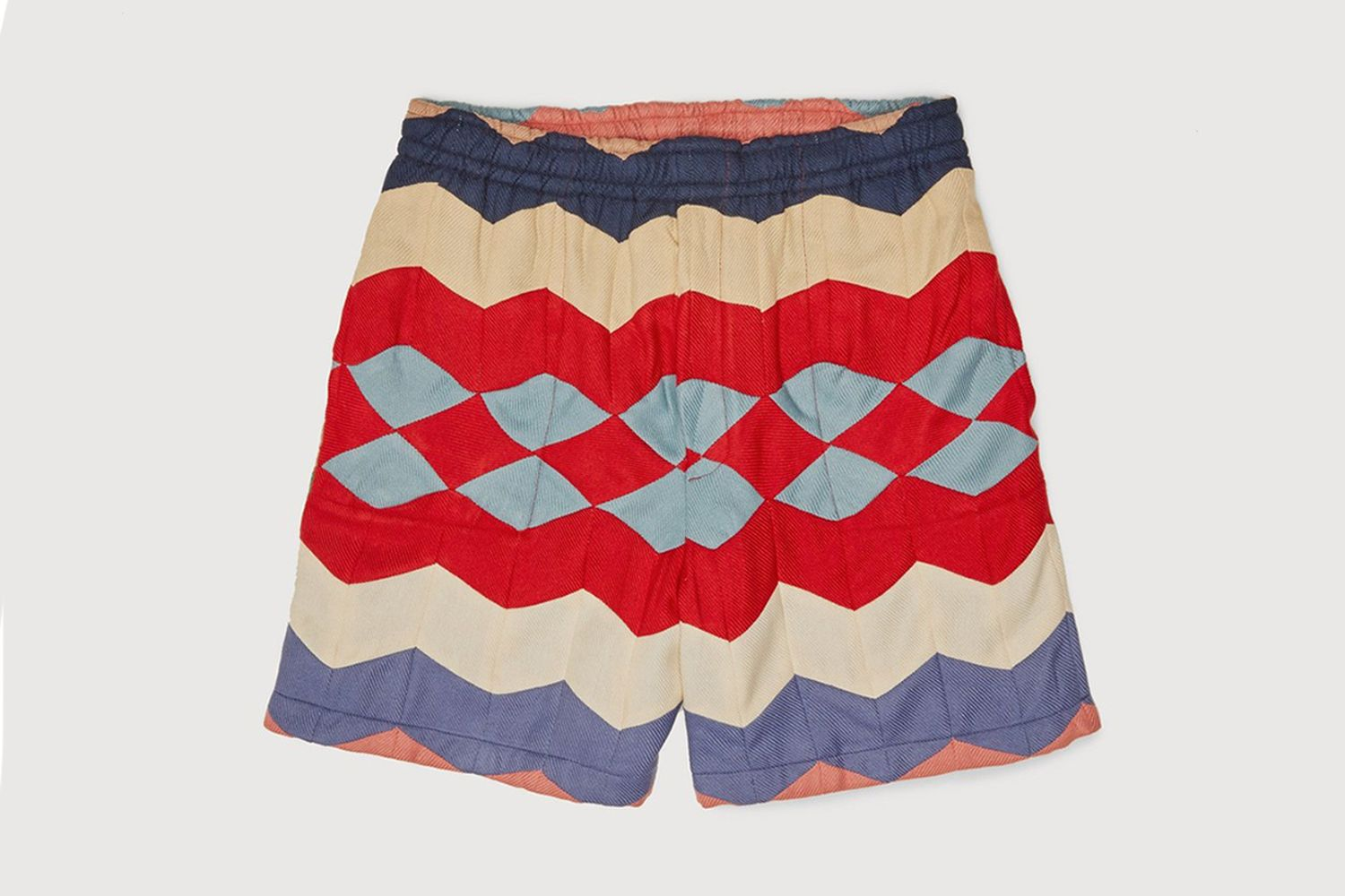 Chevron Quilt Shorts