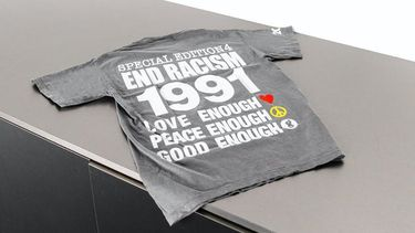 INFINITE ARCHIVES - END RACISM TEE - campaign