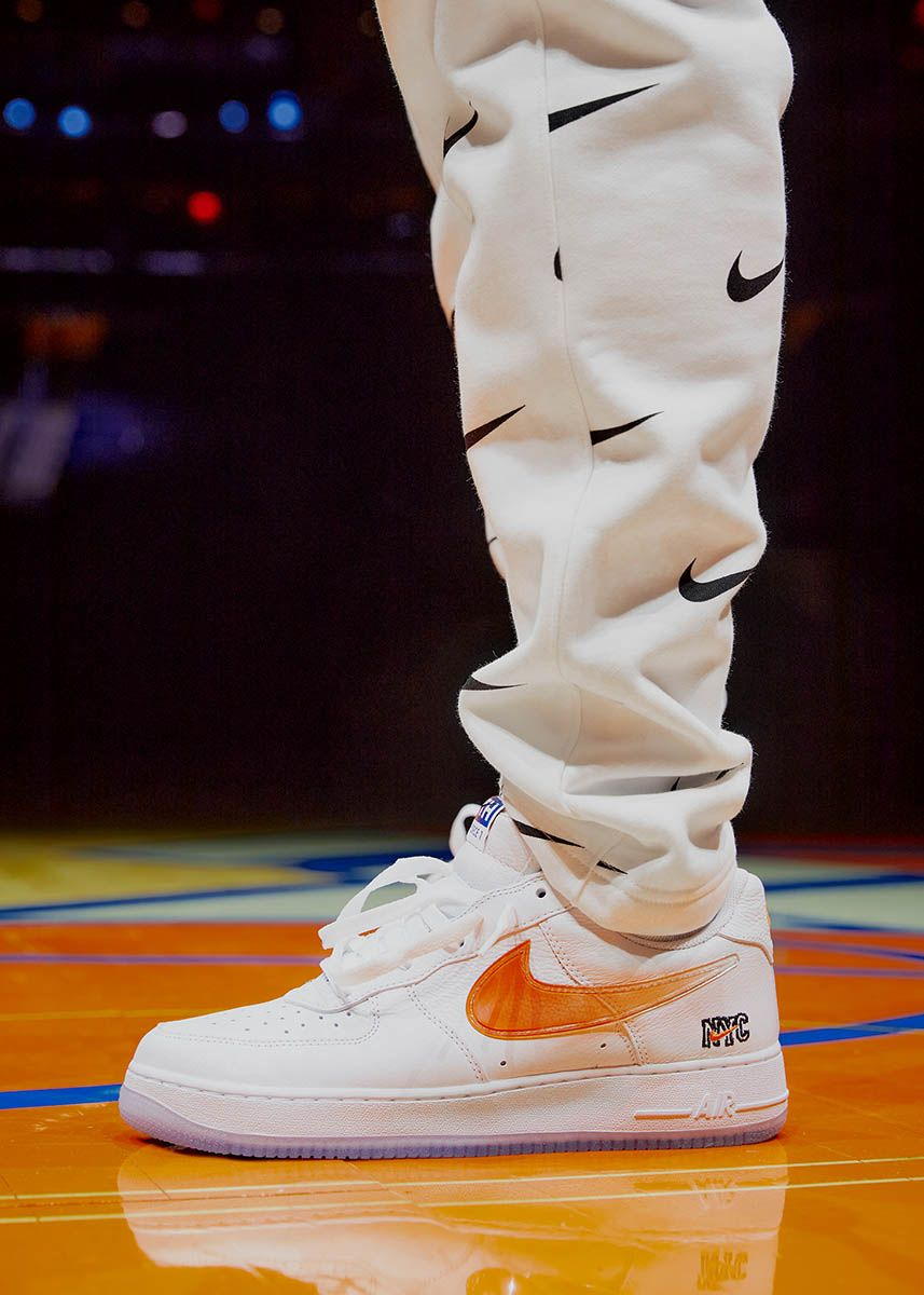 Kith's Knicks Air Force 1 Is the Only W the Team Will Have All Season 37