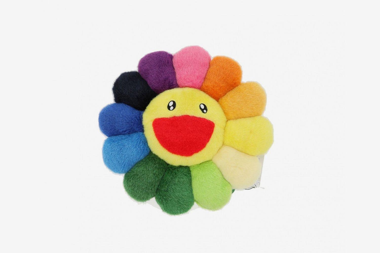 Rainbow Flower Cushion 30cm
