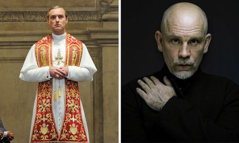 the new pope john malkovich jude law hbo the young pope