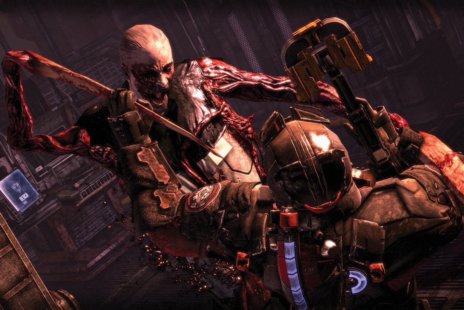 10-scariest-video-games-dead-space