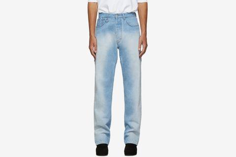 Blue Slash Jeans