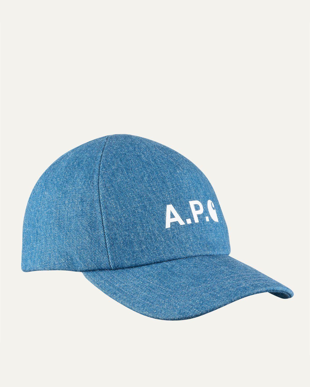 A.P.C. x Carhartt WIP - Cameron Baseball Cap Indigo - Image 1