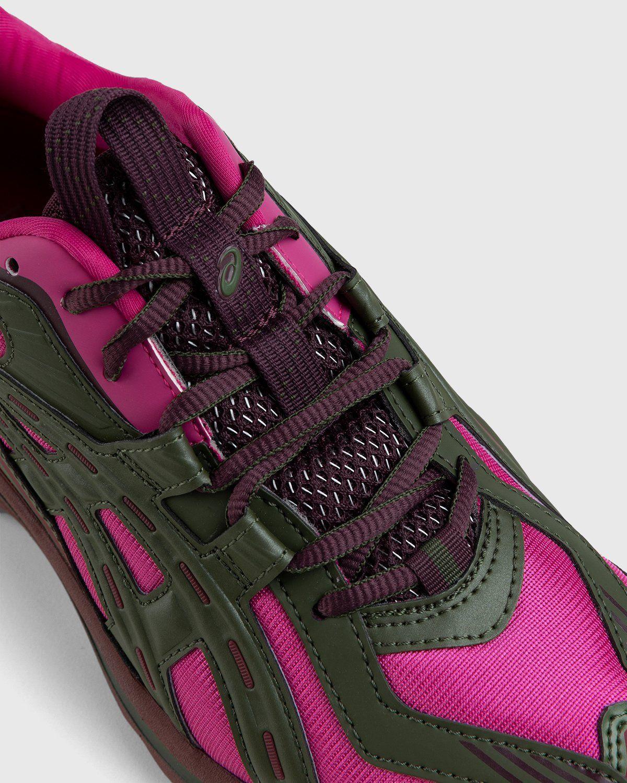 ASICS – FB1-S Gel-Preleus Pink Rave/Olive Canvas - Image 4