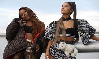 "Ariana Grande & Victoria Monét Spring Into Action With ""Monopoly"""