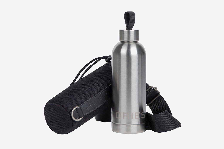 Harnessed Bottle Case With Steel Bottle