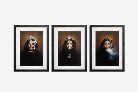 3-Print Set - Burnin' I + II + III