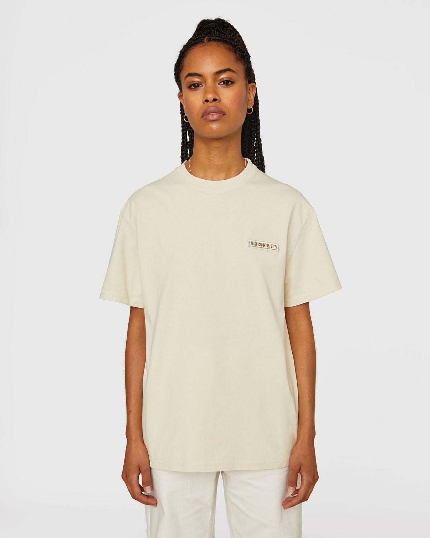 Highsnobiety Staples - T-Shirt Eggshell - Image 6