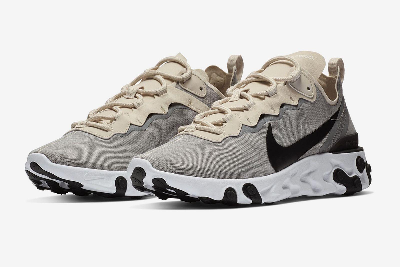 Pasto notificación Aplaudir  Nike React Element 55 in Light Gray Black Is Dropping Soon