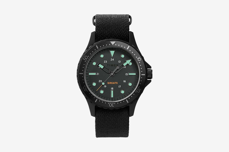 41mm Fabric Strap Watch