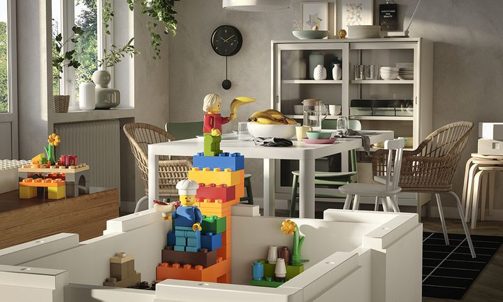 IKEA LEGO BYGGLEK collaboration