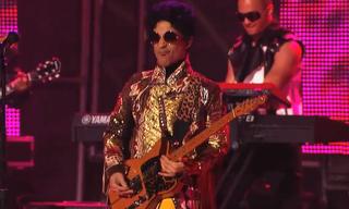 Prince Performs on 'Jimmy Kimmel Live!'