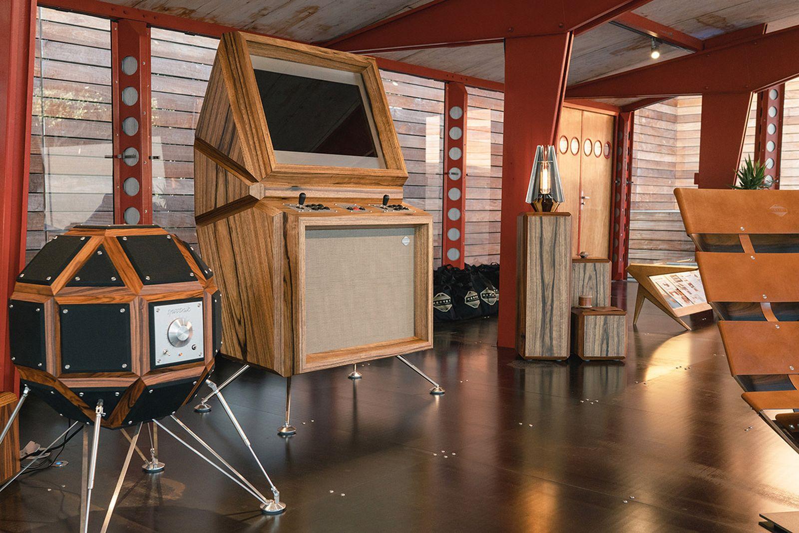 hervet exhibition maxfield la Cedric Hervet Daft Punk