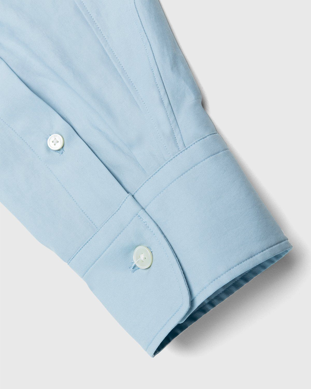 Auralee – Twill Shirt Blue - Image 6
