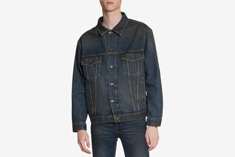 Dirty-Wash Jean Jacket