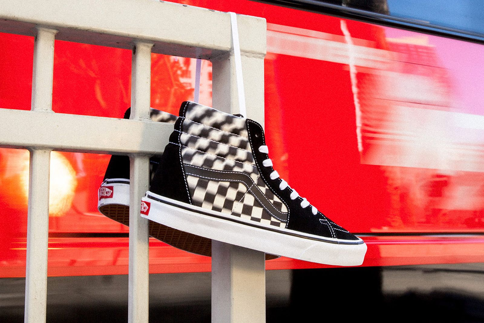 vans authentic blur check release date price official