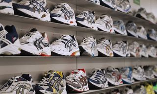 The ASICS Archive in Japan Features Product Very Few People Have Ever Seen Before