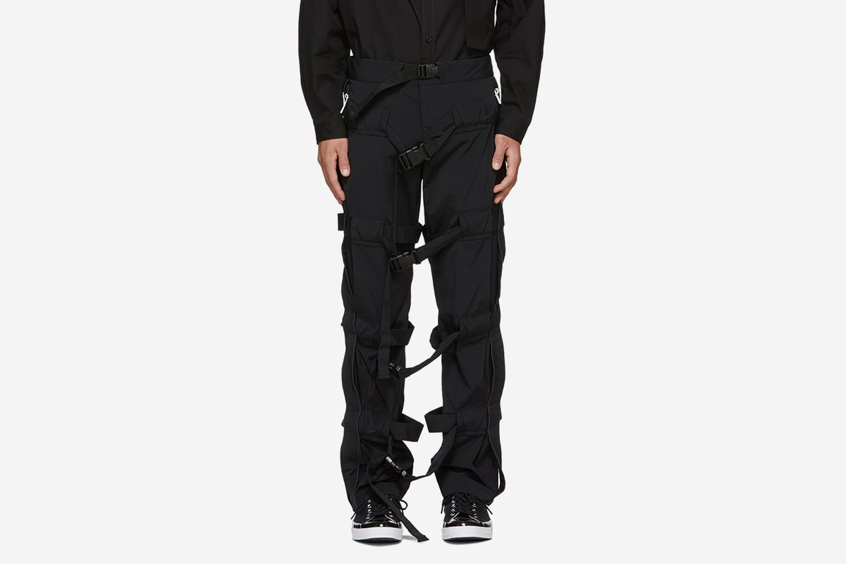 Strapped Trousers